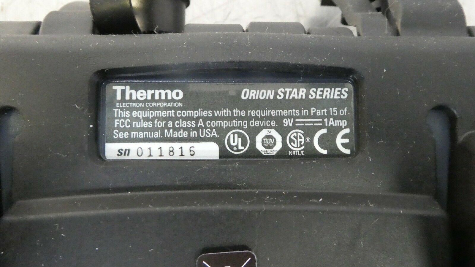 R157176 Thermo Electron Orion 3 Star pH Benchtop w/ Adapter