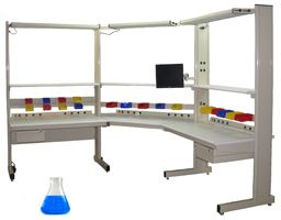 Grant Series Lab Benches with Chemical Resistant Laminate Top