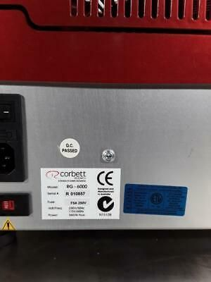 CORBETT RESEARCH Rotor-Gene RG-6000 Real-Time Rotary Analyser PCR Machine 2plex