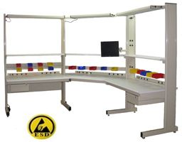 Grant Series Lab Benches with Nevamar ESD Laminate