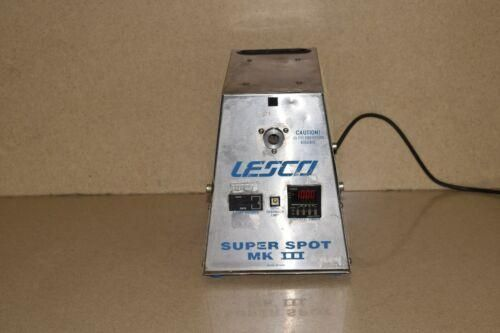 @@ LESCO SUPER SPOT MK III HIGH INTENSITY ULTRAVIOLET LIGHT CURING SYSTEM (BB)