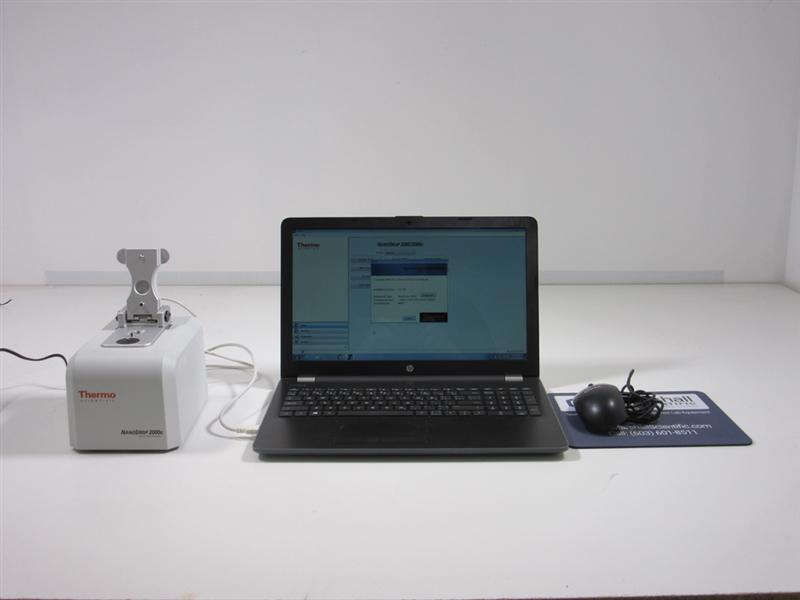 NanoDrop 2000c Spectrophotometer