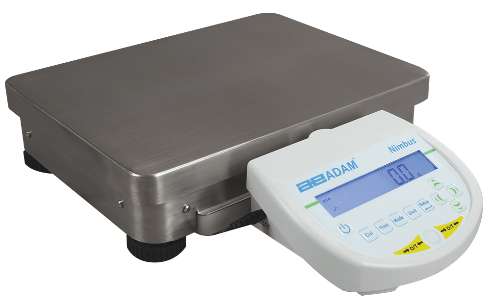 Adam Equipment Nimbus® Heavy Duty Precision Balances - NBL 16001e