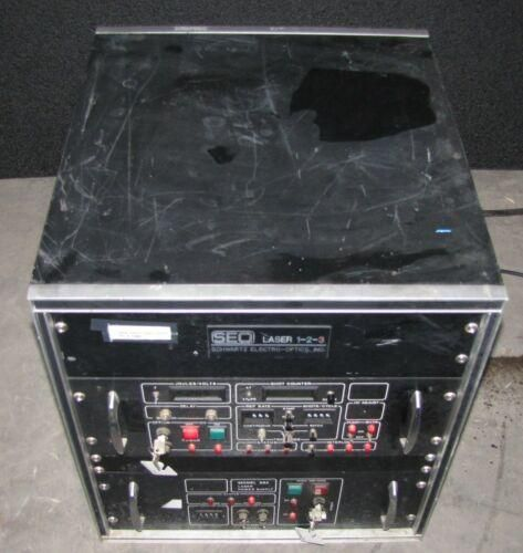 SEO LASER SCHWARTZ ELECTRO-OPTICS MODEL 882 LASER POWER SUPPLY & CABINET (#2717)