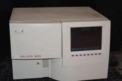 CELL-DYN ABBOTT DIAGNOSTICS MODEL #1800 HEMATOLOGY ANALYZER   (#1983)