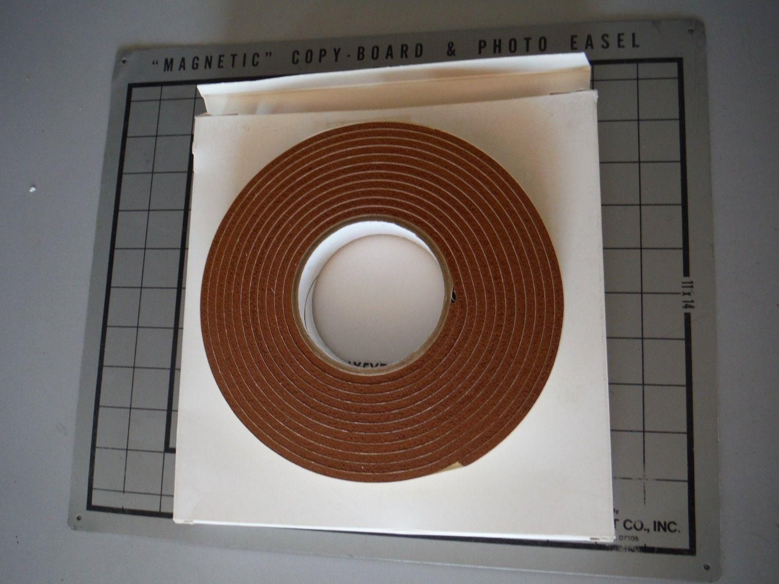 Lot of (2) 100S Silicone Gasket Tape 1x5yds