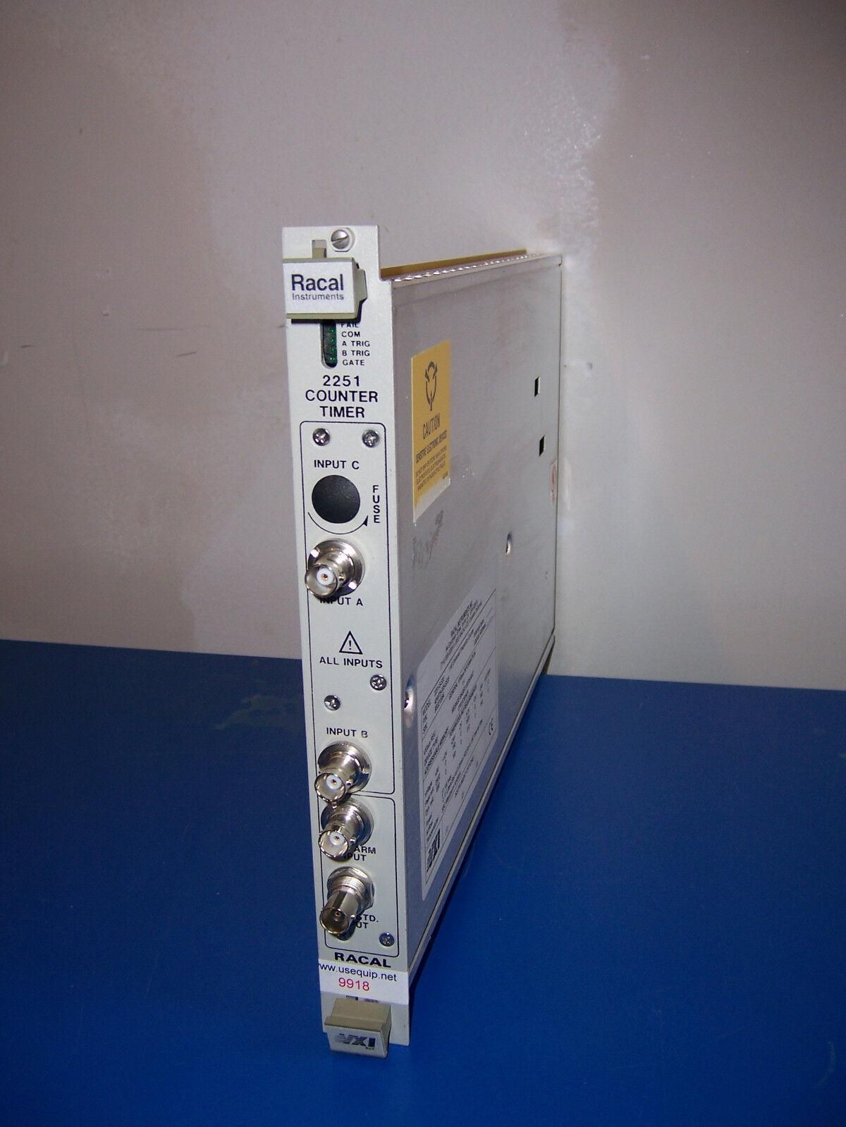 9918 RACAL VXI 2251-S-535 1Ns UNIVERSAL FREQUENCY COUNTER / TIMER