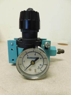 Wilkerson R16-03-000A L92 Air Pressure Regulator w/ Pressure Gauge 0-160 PSI