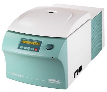 Hettich Mikro 220R Refrigerated Centrifuge, Cat # 2205-01