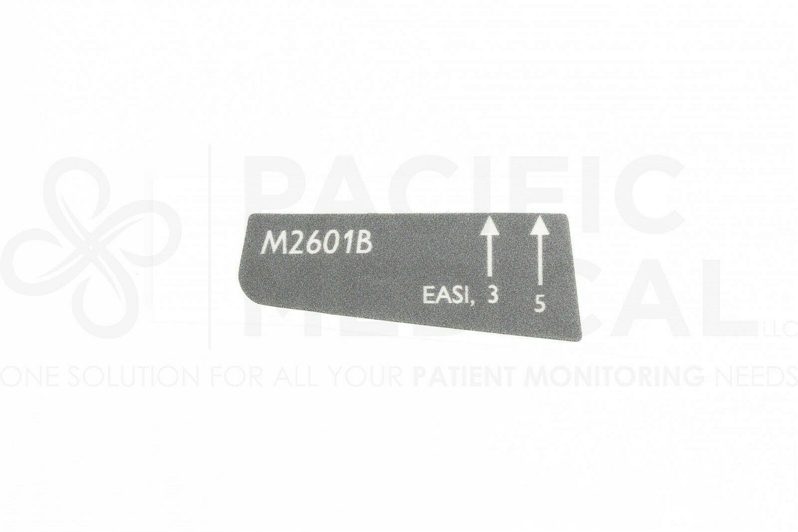 Philips IntelliVue M2601B Tele Transmitter S01 S02 S03 ECG Lead Wire Overlay New