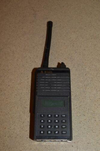 BK RADIO INC MODEL EPH5102S 0333019 VINTAGE HANDHELD 2-WAY RADIO