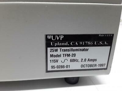 UVP High-Performance UV Transilluminator Model TFM-20