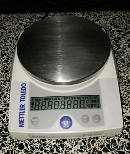 Mettler Toledo PL602-S Balance d=0 01 Max=610 00g Lab Scale Working Great