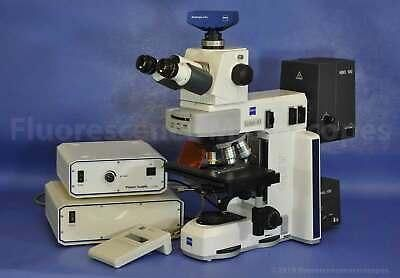 Zeiss Axio Scope.A1 Upright Fluorescence Microscope - 1 Year Warranty