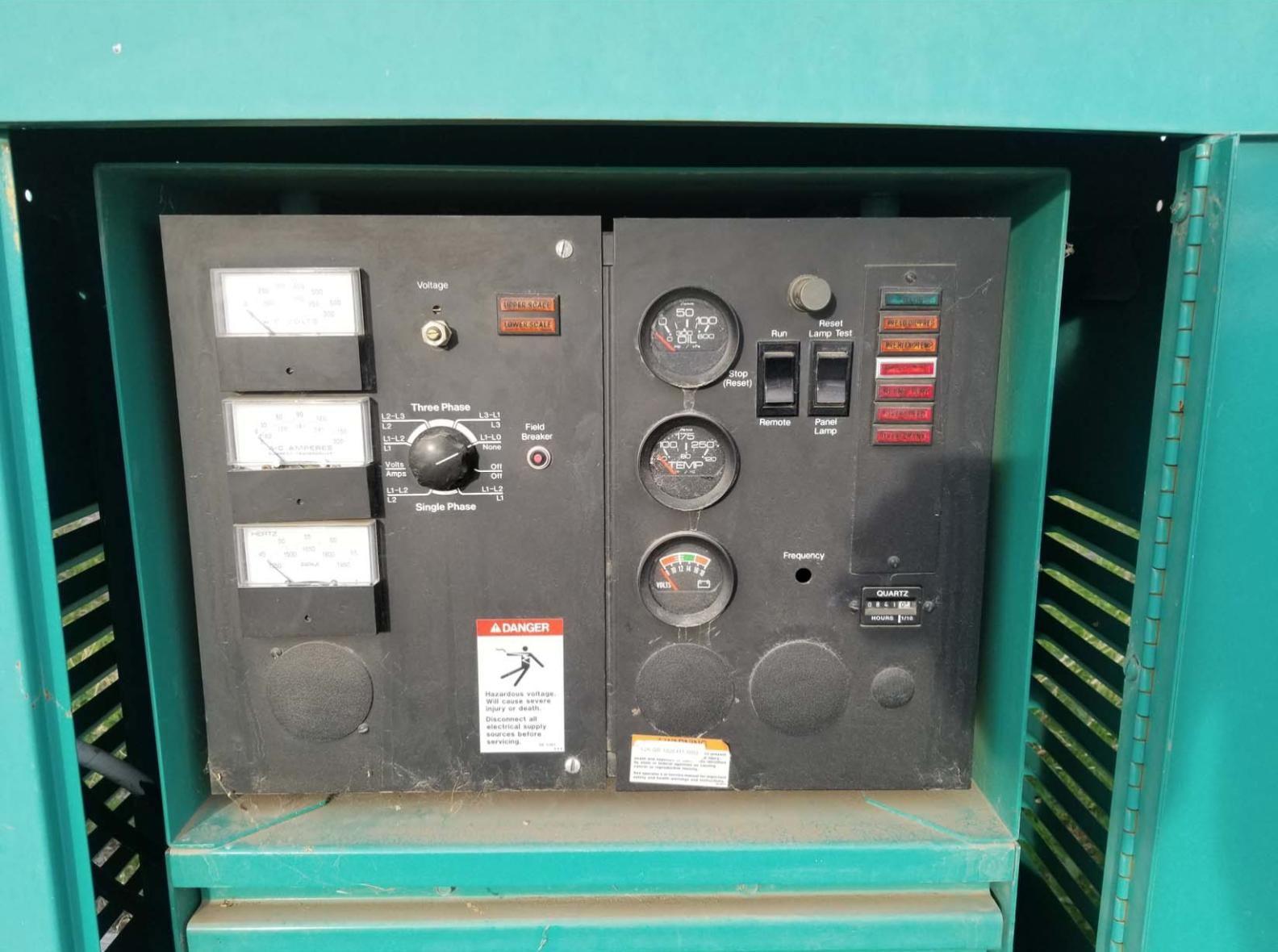 1994 45KW Onan Generator Set, Natural Gas, Model 45EM Onan Em Gen Wiring Schematic on