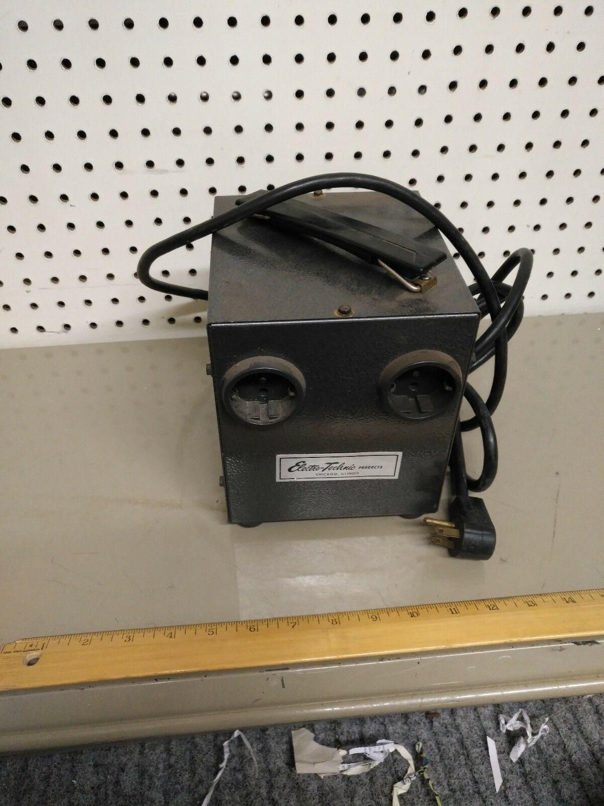Electro-Technic Products Step-up Transformer