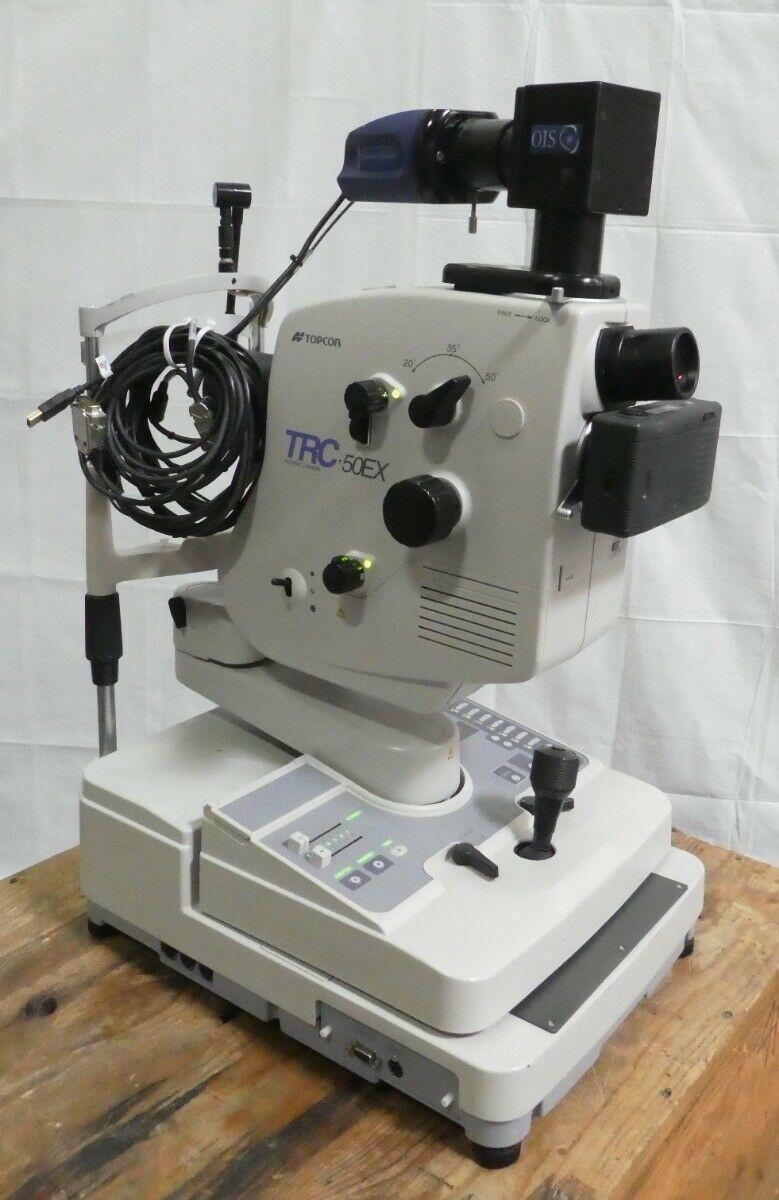 R161934 Topcon TRC-50EX Ophthalmology Retinal Camera w/ OIS Camera