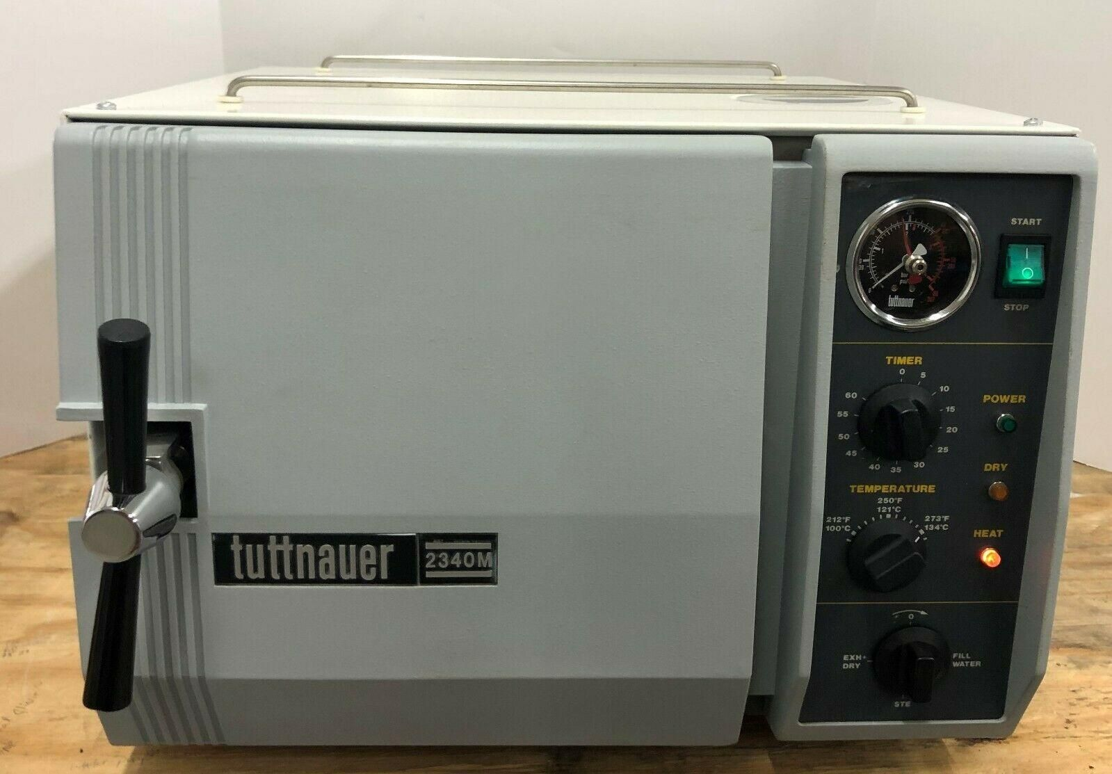 """Fully Refurbished Tuttnauer 2340M  9"""" X 18"""" Chamber Size 6 Month Warranty"""
