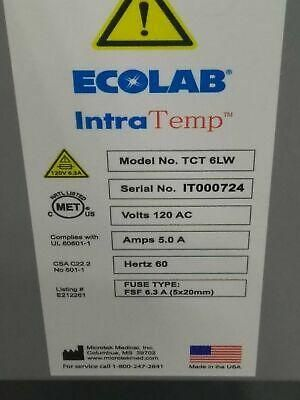 Eco Lab IntraTemp Fluid Warmer