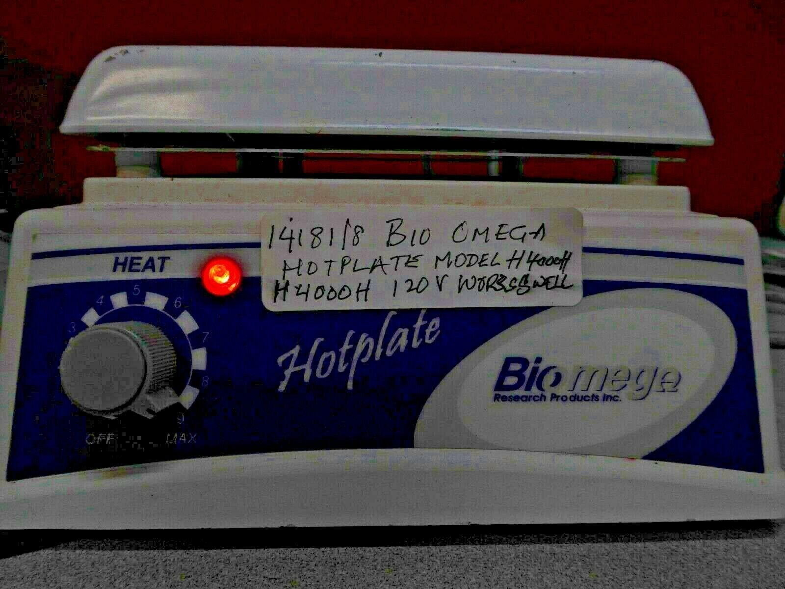Biomega hotplate H4000-H with Ceramic top  in exc working cond tested 14181/8