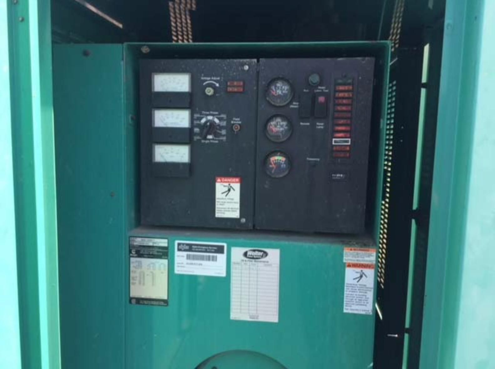 60KW Cummins Onan Generator Set, Diesel with Tank, DGCB-3368617, 448 Hours