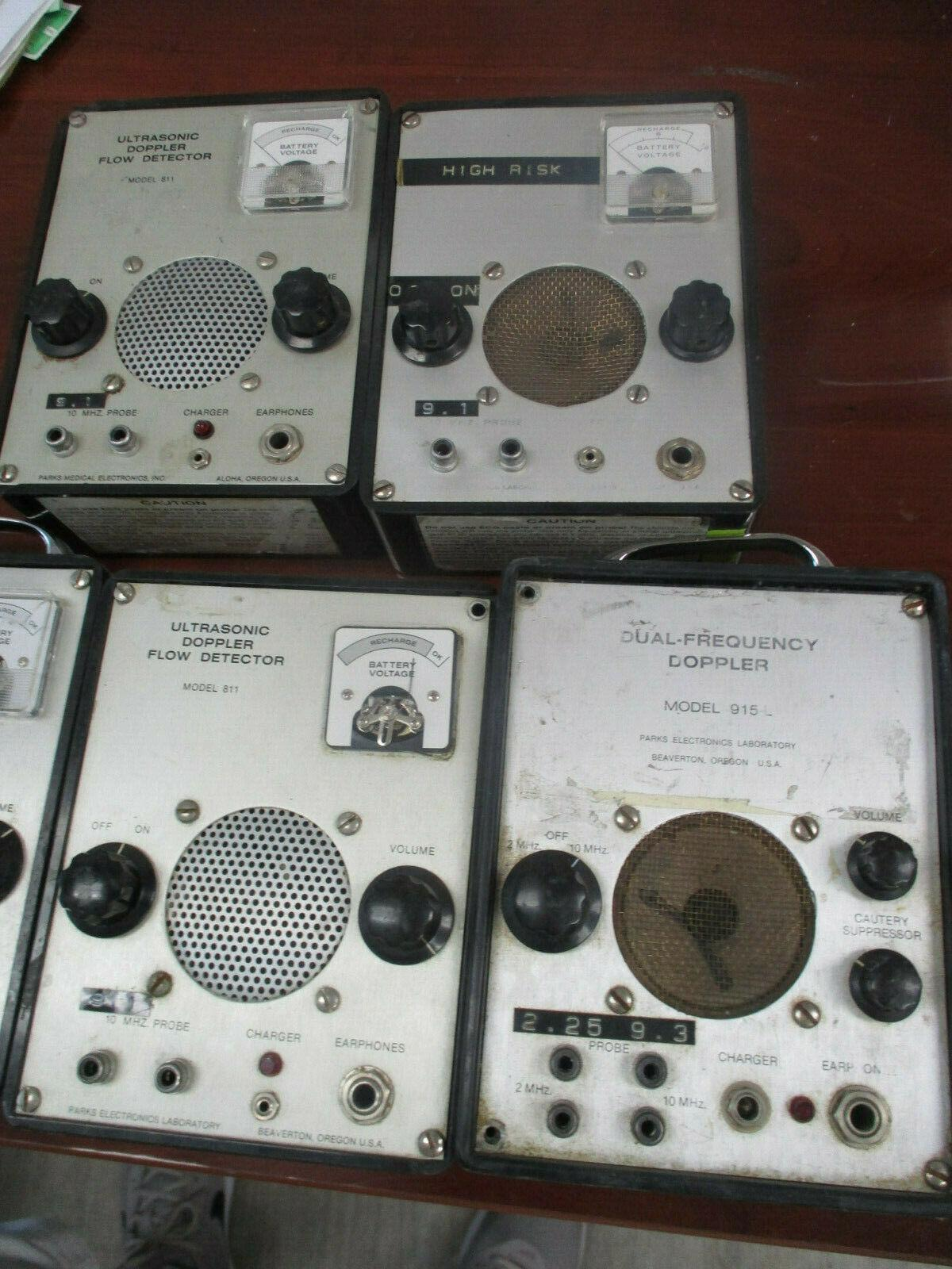 Parks Dopplers 811, 915L - PARTS - SOLD AS IS