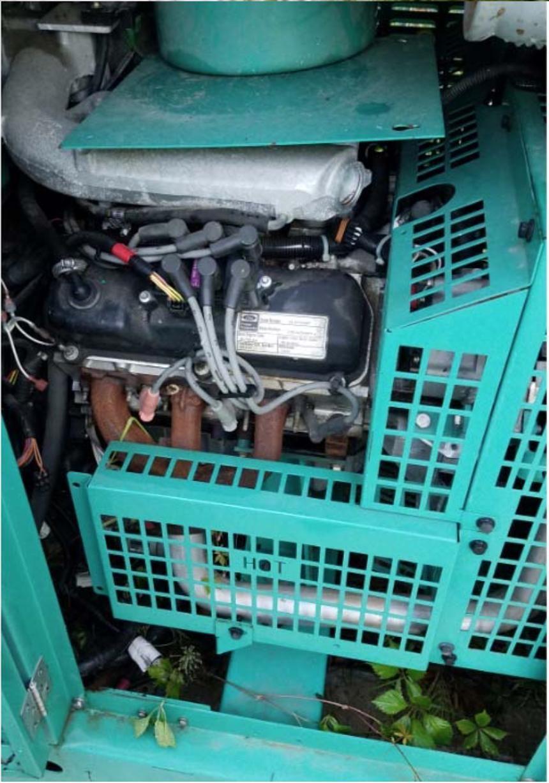 35KW Onan/Ford Generator Set, Natural Gas, Model GGFD-5586757 Needs Work