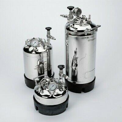 Gelman pressure vessel model 5203 5 gal 19 liters 100 psi Only ONE Piece
