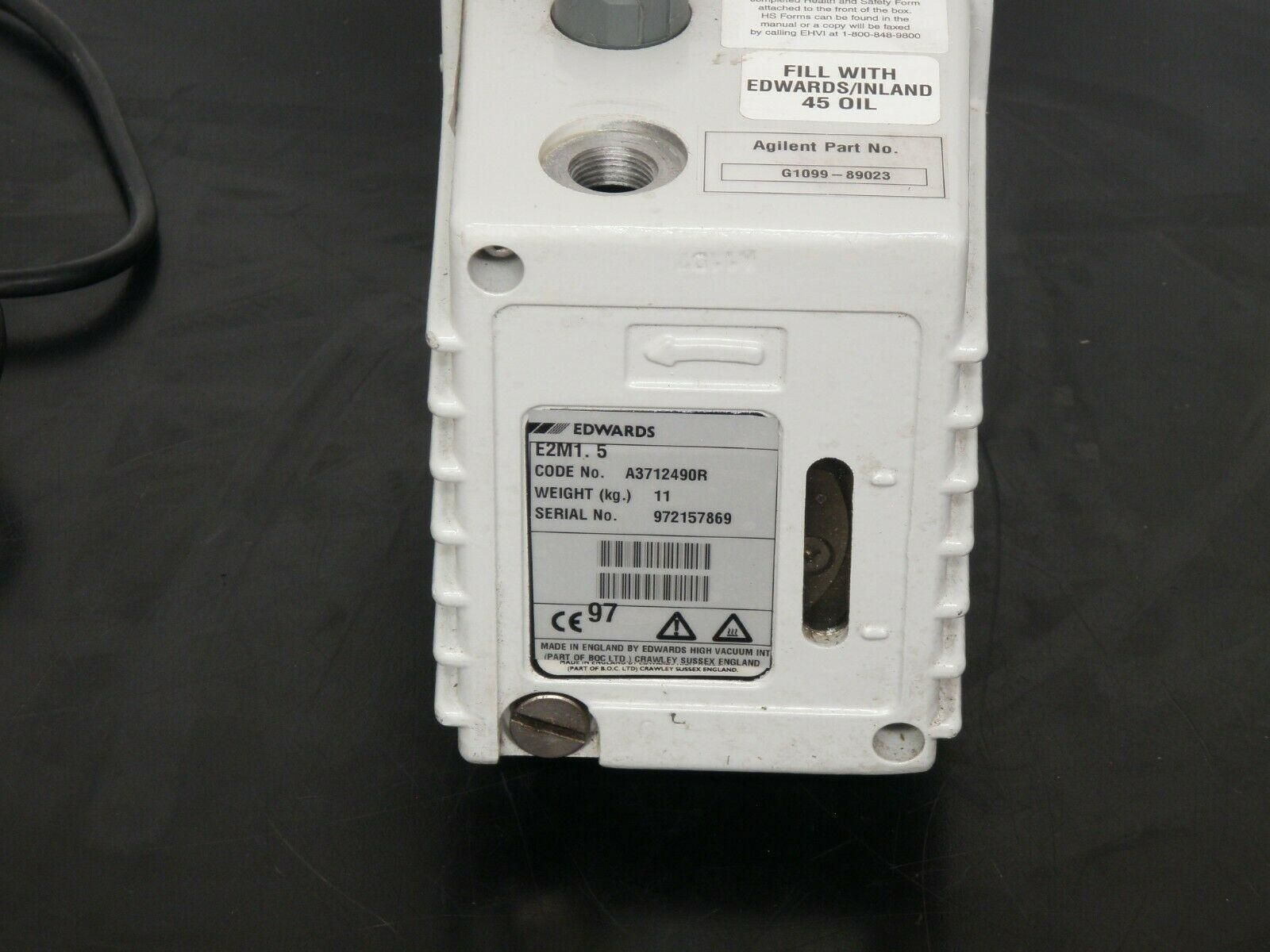 Edwards   E2M-1.5 Vacuum Pump, Tested