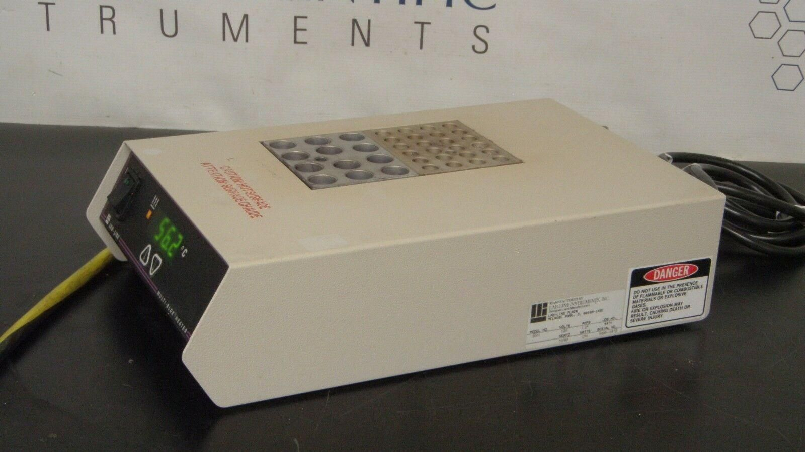 Lab-Line  Multi-Blok Heater Model 2001