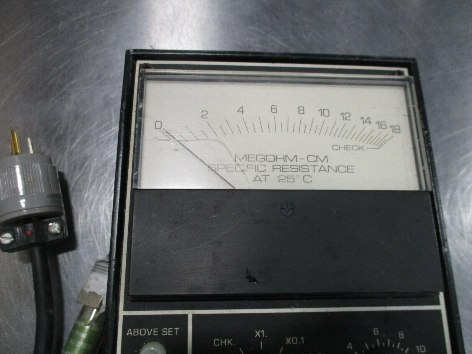 BECKMAN INDUSTRIAL SOLU METER MODEL SM-1