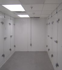 Cincinnati Sub-Zero BioStore Freezer Rooms