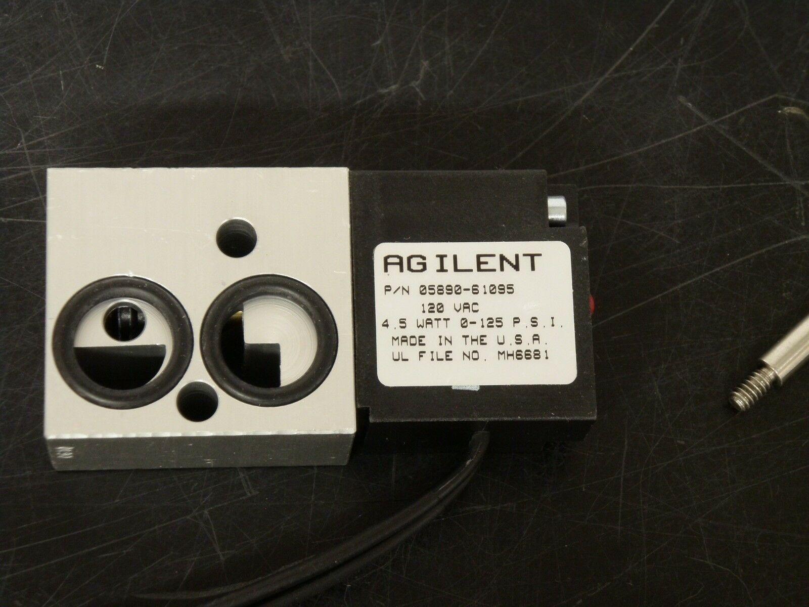 Agilent  Four-way Solenoid Valve, 115 V AC, PN: 05890-61095