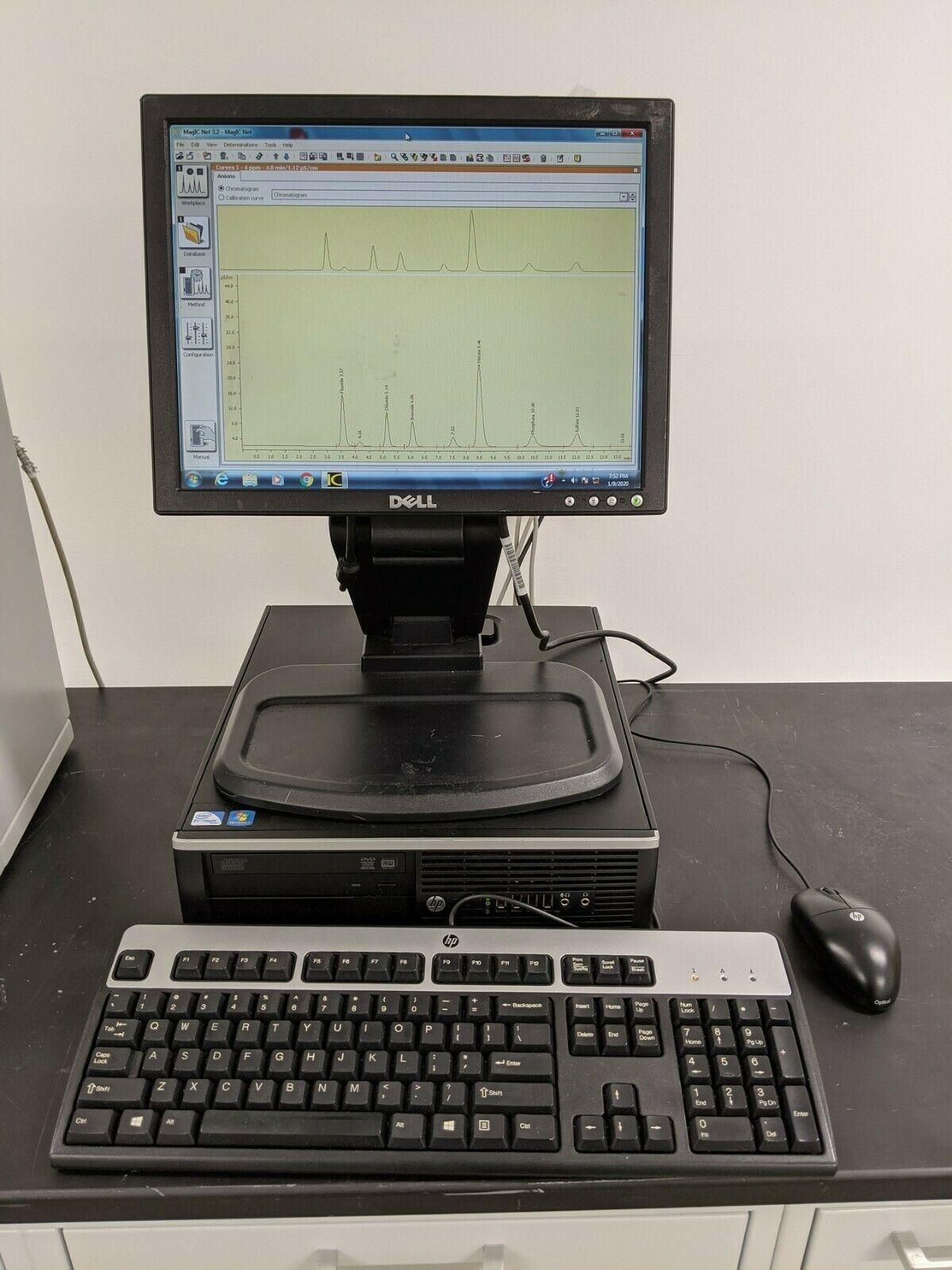 Metrohm  850 Professional IC, 889 Autosampler, Computer/Software, Tested