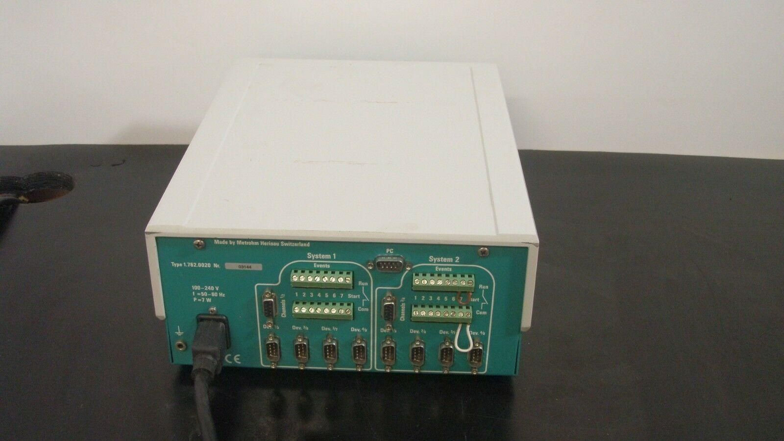 Metrohm 762 IC Interface