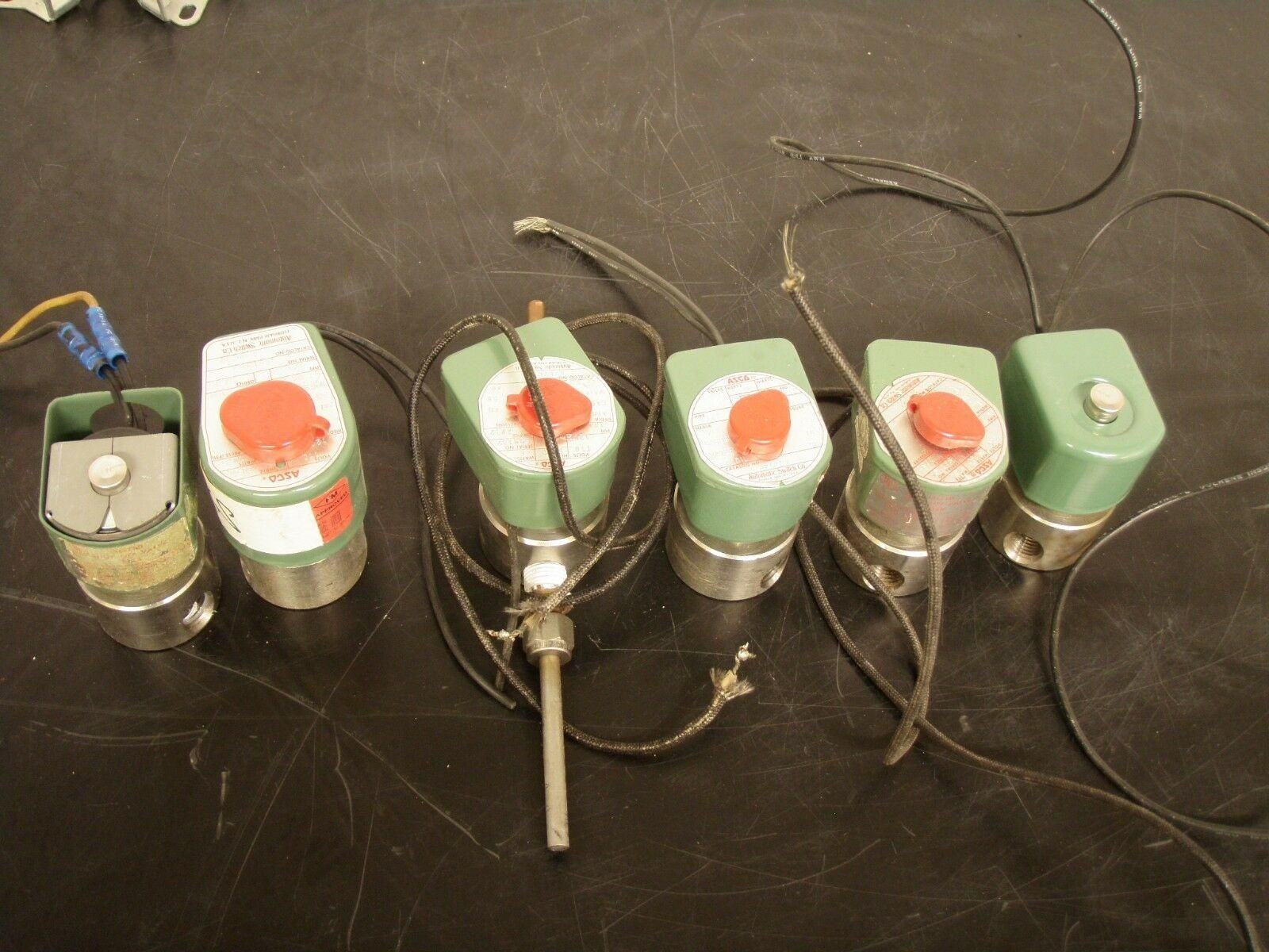 ASCO  Red Hat Two Way Solenoid Vavles QTY. 8