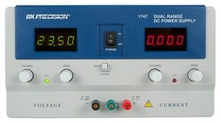 B&K Precision Model 1747 Dual Range DC Power Supply (0-35V, 0-10A or 0-60V, 0-5A)