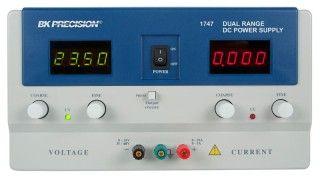 B&K Precision Model 1747 Dual Range DC Power Supply (0-35V, 0-10A or 0-60V, 0-5A)