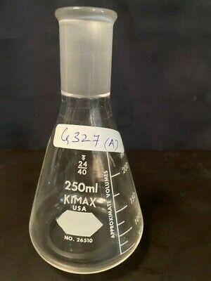 LAB GLASSWARE- KIMAX 250ML ERLENMEYER FLASK NO.26510,24/40(ITEM G-327)