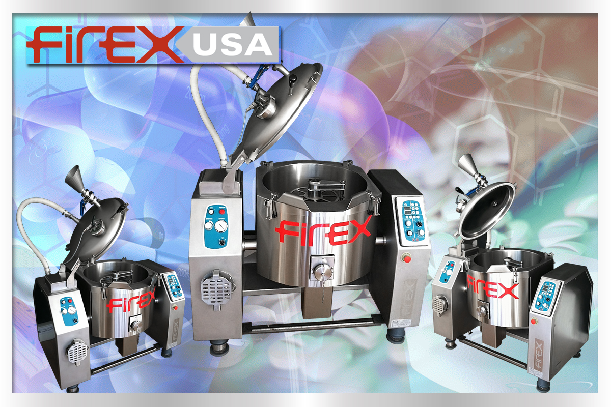 Firex High-P Agitated Vacuum Kettle