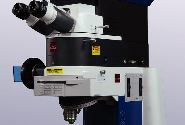 CRAIC Apollo Raman microspectrometer