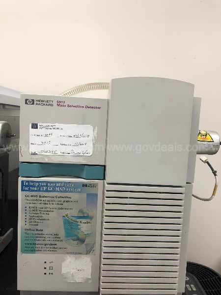 Agilent Gas Chromatographer Mass Spectrometer