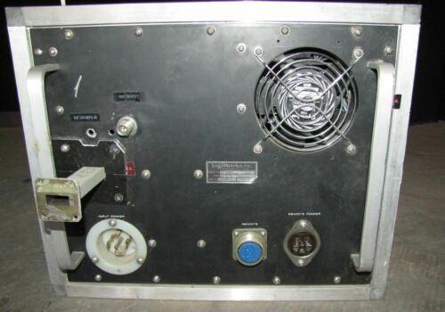 ^^ LOGIMETRICS A600/X 7.8 to 12.0 GHz TWT RF AMPLIFIER  (#2301)