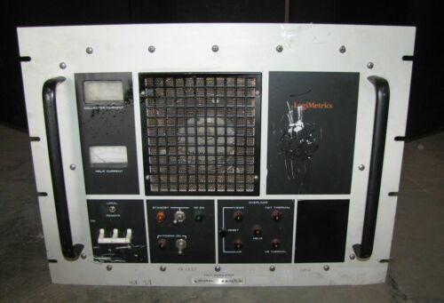 ^^ LOGIMETRICS A610/C 4.8 to 8.0 GHz TWT RF AMPLIFIER  (#2303)
