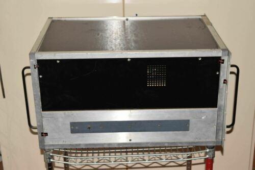 ^^ LOGIMETRICS A610/X 8.0 to 12.46 GHz TWT RF AMPLIFIER  (PS#9)