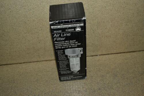 SEARS 919009 AIR DRIVE TOOLS AIR LINE FILTER (CH78)