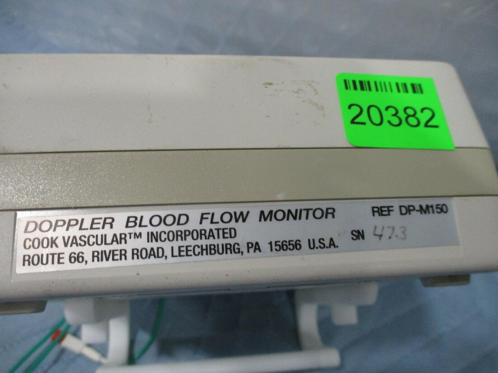 Cook Vascular Doppler Blood Flow Monitor DP-M150