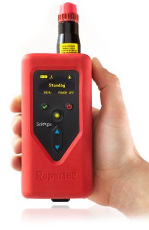 SciAps ReportR™ Handheld Raman Spectrometer