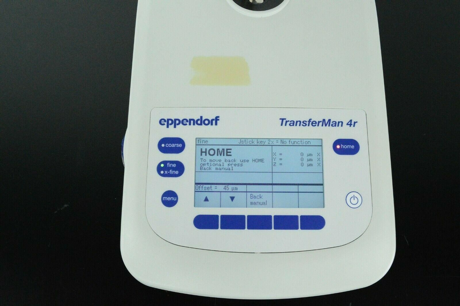 Eppendorf TransferMan 4r 5193 Micromanipulator joystick Only w/Warranty