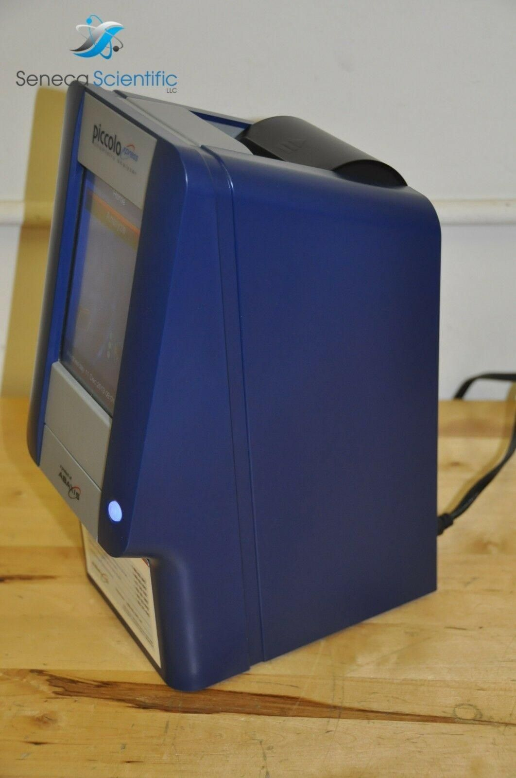 ABAXIS PICCOLO XPRESS CHEMISTRY BLOOD ANALYZER CLIA WAIVED PORTABLE